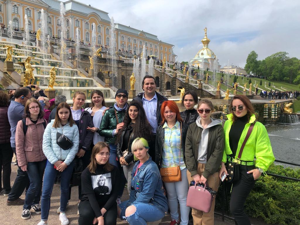Состоялась экскурсия в Санкт-Петербург (с 24 по 26 мая 2019 г.)