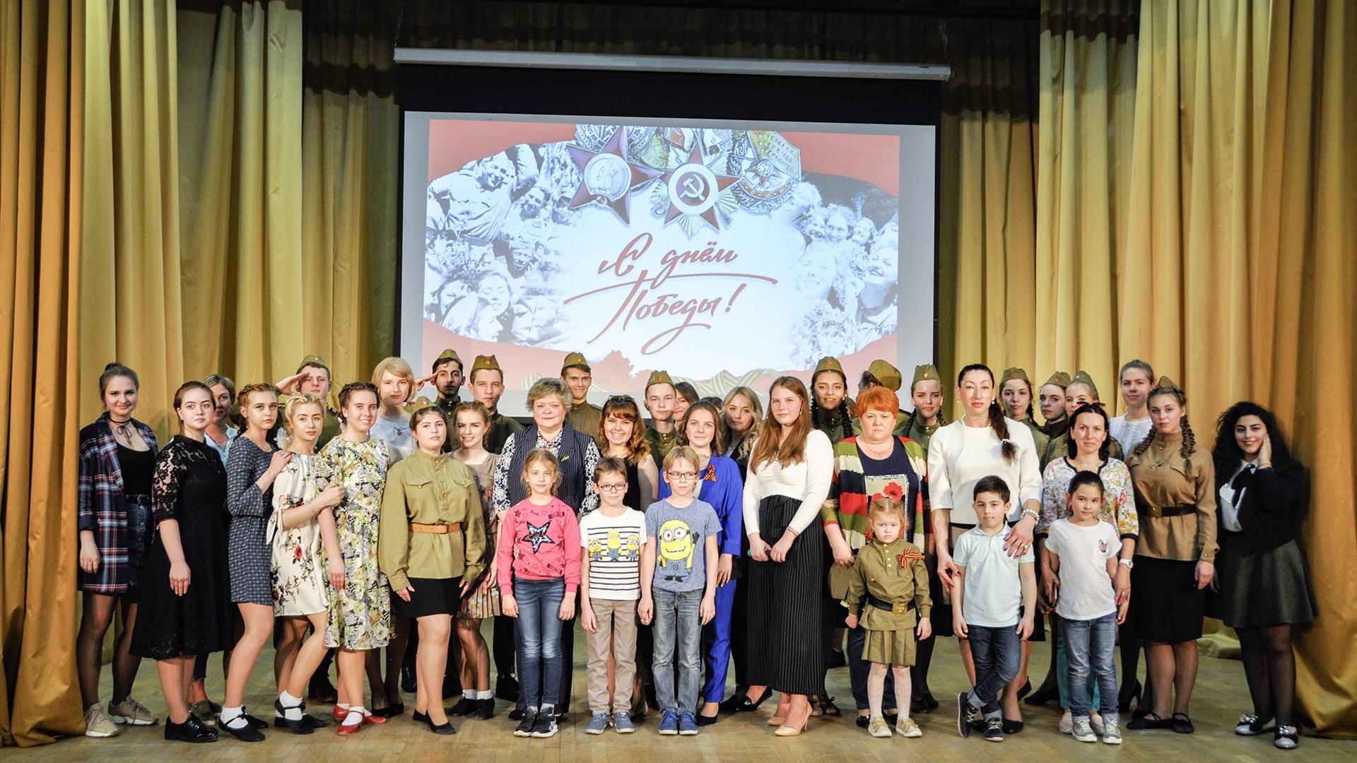 Состоялся праздничный концерт к 74-й годовщине Дня Победы (07.05.2019 г.)!