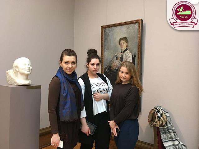 Экскурсия по Третьяковской галерее для группы ПР-23!