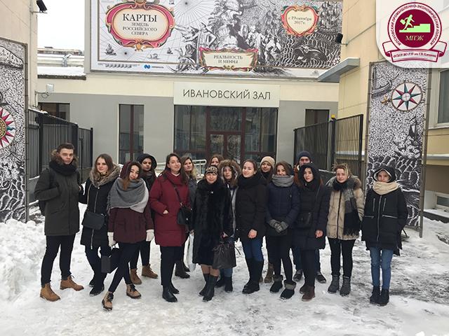 Экскурсия группы З-21 в Российскую государственную библиотеку!