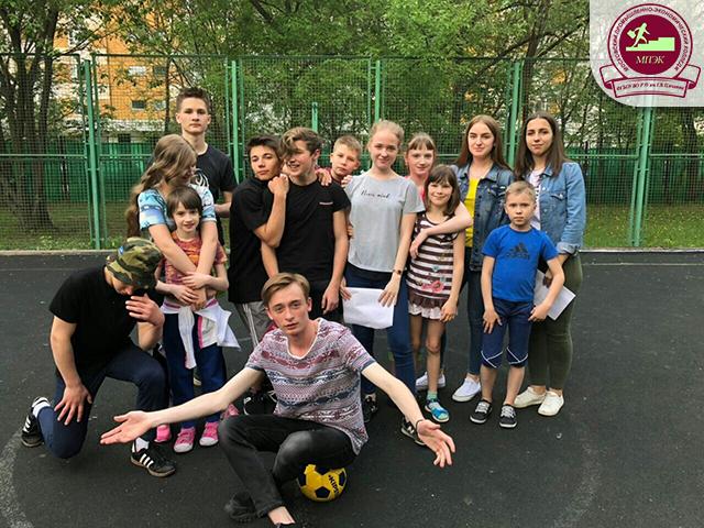 Благотворительная акция: проведение «Веселых стартов» в Детском доме №12!
