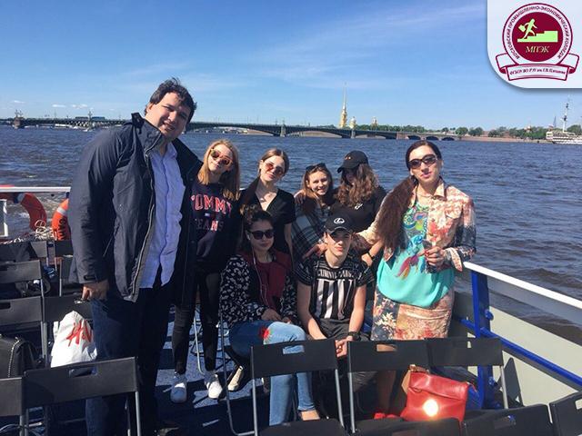 Экскурсия в город Санкт-Петербург!