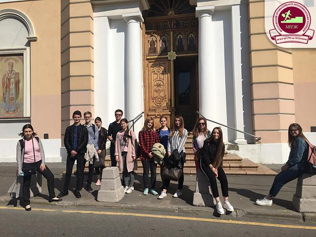 Экскурсия по историческим местам Пресненского района Москвы групп ПС-11 и Б-11!