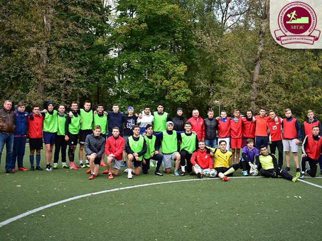 Поздравляем команду МПЭК с победой в матче по мини-футболу среди СПО РЭУ!