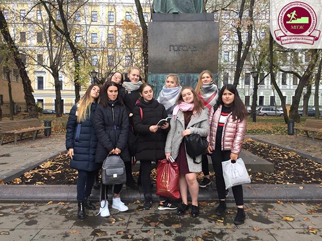 Участие студентов в VI городской Олимпиаде «Музеи. Парки. Усадьбы»