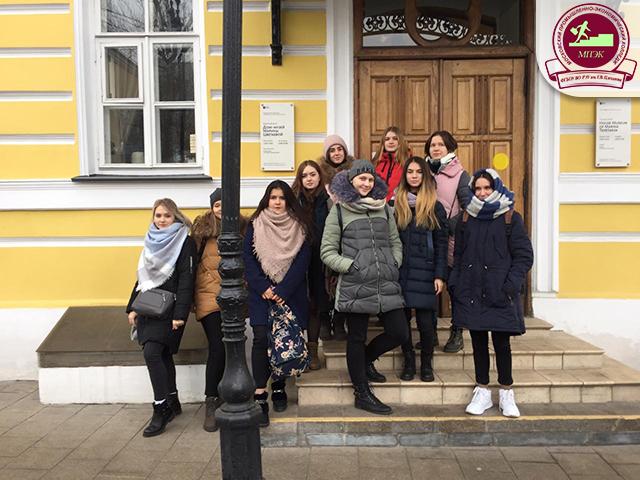 Сборные команды ПС-11,12,13,14 и ПР-13,14 посетили  музей -мемориальную квартиру Марины Цветаевой