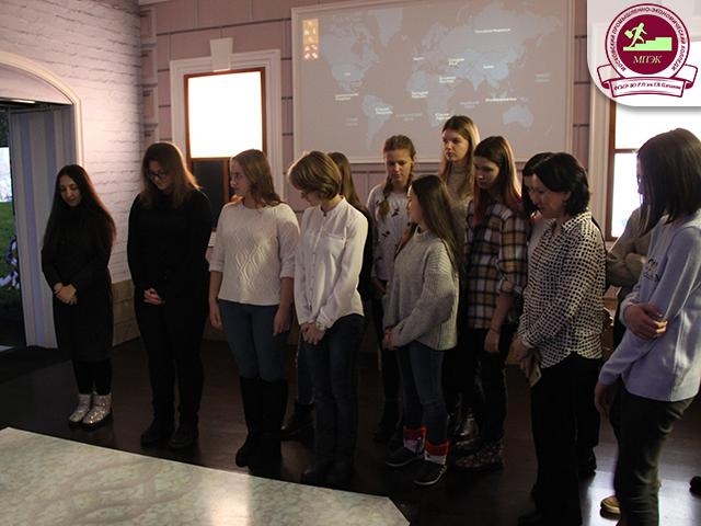 Первокурсники МПЭК гр.ПР-11,12 на Московской молодежной антинаркотической площадке