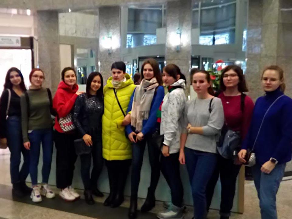 Группа БД-31 посетила Московскую биржу | 31.10.2019