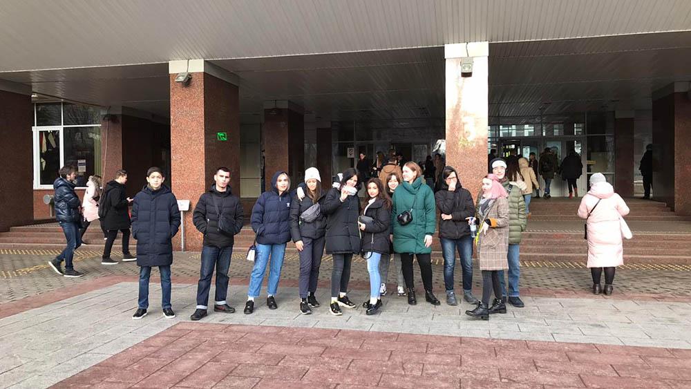 Ознакомительная экскурсия группы ПС 15.16 МПЭК в РЭУ | 15.01.2020