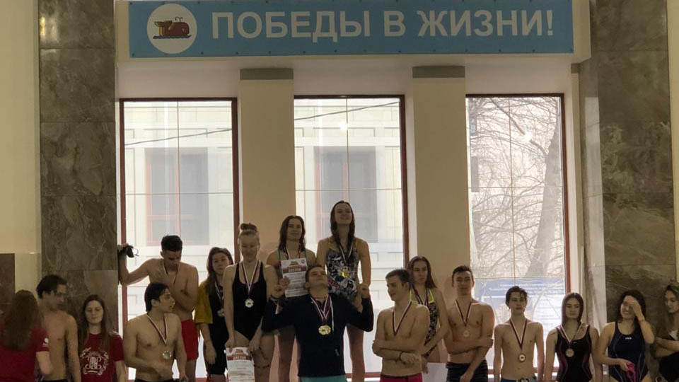 Поздравляем бронзовых призеров МПЭК по плаванию в рамках Спартакиады РЭУ среди СПО