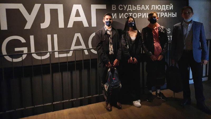 Cтуденты группы З-21 посетили музей истории ГУЛАГа (11.09.2021)