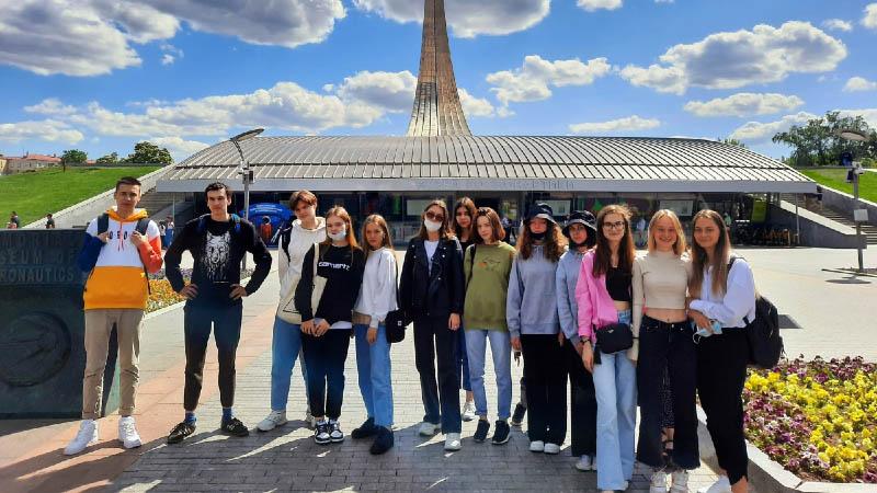 Экскурсия группы 9Б-21 МПЭК в музей Космонавтики (25.05.2021)