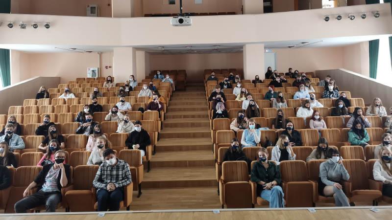 Прошло первое в этом учебном году собрание Актива для первокурсников (10.09.2021)