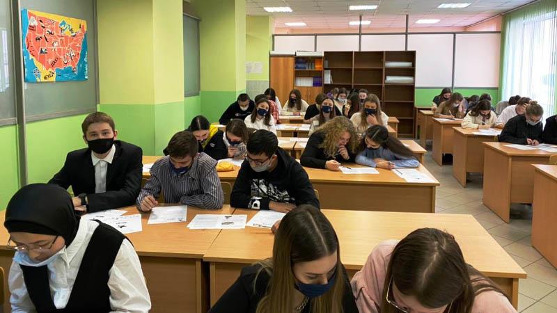 Студенты МПЭК приняли участие в акции «Диктант Победы» (29.04.2021)